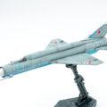 モデルズビット 1/72 Ye-166 のプラモデルの完成品