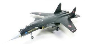 ホビーボス 1/72 su-47 ベルクート プラモデルの完成品