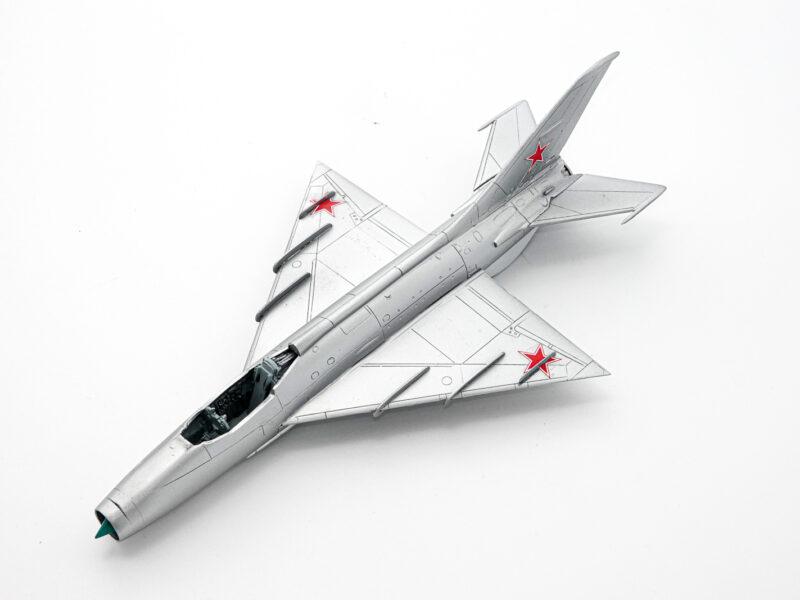 A&A 1/72 Ye-4 プラモデル 塗装