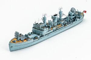 NIKOモデル レジンキット 1/700 ドイツ海軍夜間戦闘機指揮艦の完成品
