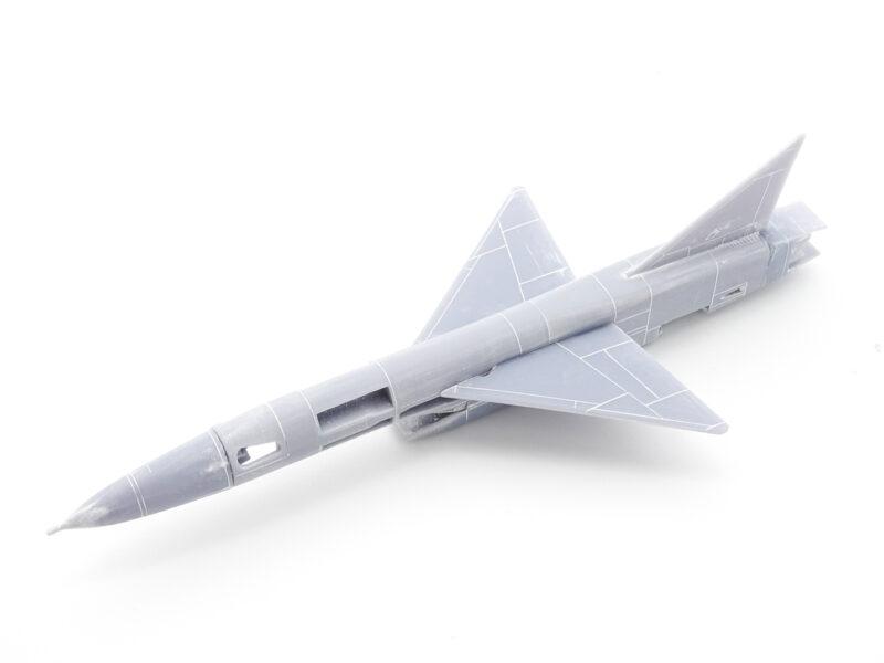 ビーバーコーポレーション 1/144 XF-103 製作中