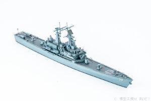 サイバーホビー 1/700 アメリカ海軍 原子力巡洋艦 ヴァ―ジニア プラモデル 完成