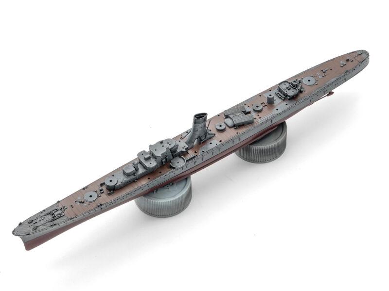 フジミ 1/700 日本海軍軽巡洋艦「阿賀野」 プラモデル制作中