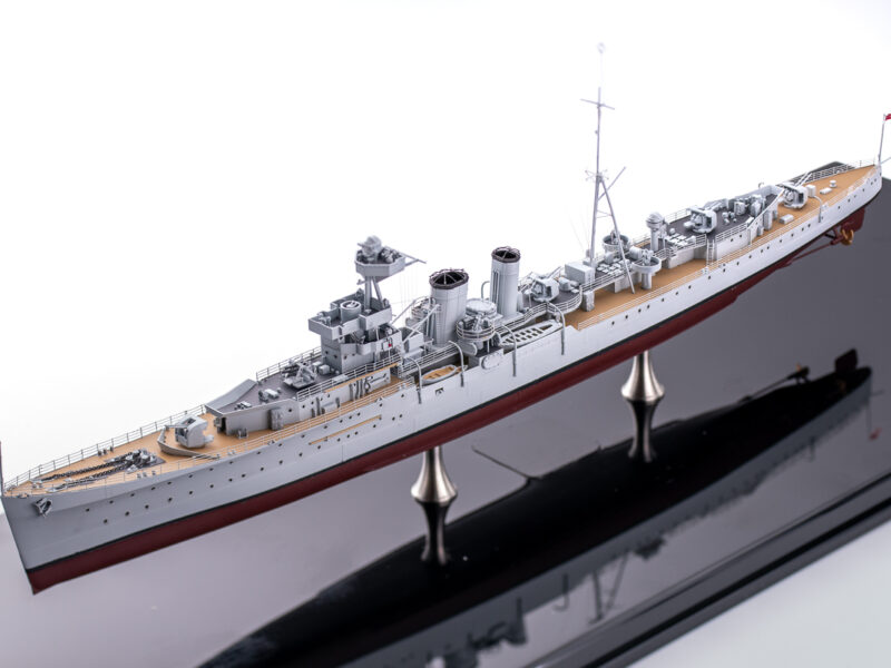トランぺッター 1/350 イギリス海軍 軽巡洋艦 カルカッタ 完成品