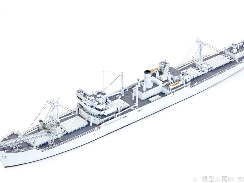 NIKOモデル 1/700 イギリス海軍 CAMシップ エンパイア