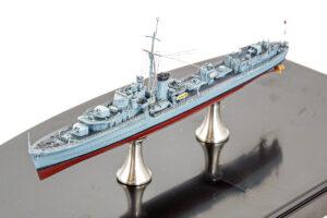 フライホーク 1/700 イギリス海軍 駆逐艦 ケリー プラモデル 完成品