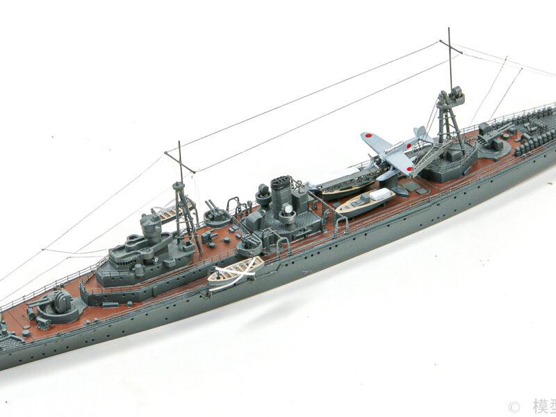 フジミ 1/700 日本海軍敷設艦「津軽」プラモデル 精密完成品