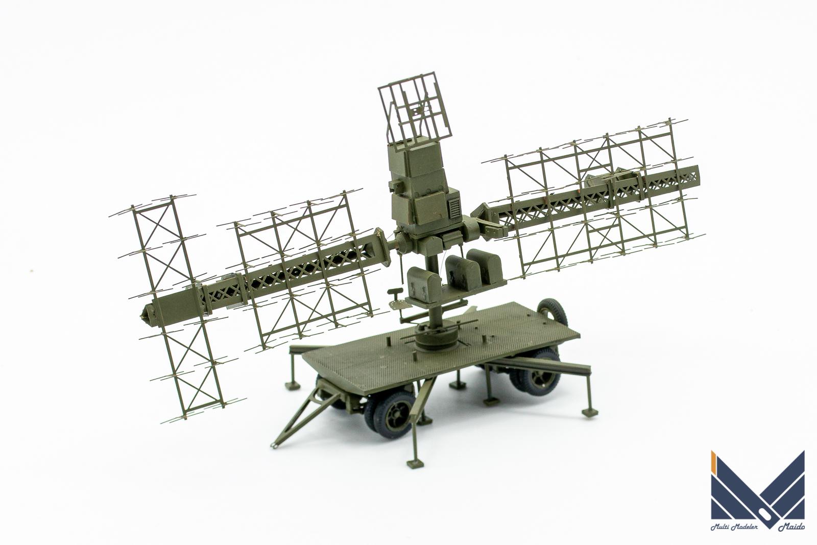 ZZモデル 1/72 SCR-268 レジンキット完成品