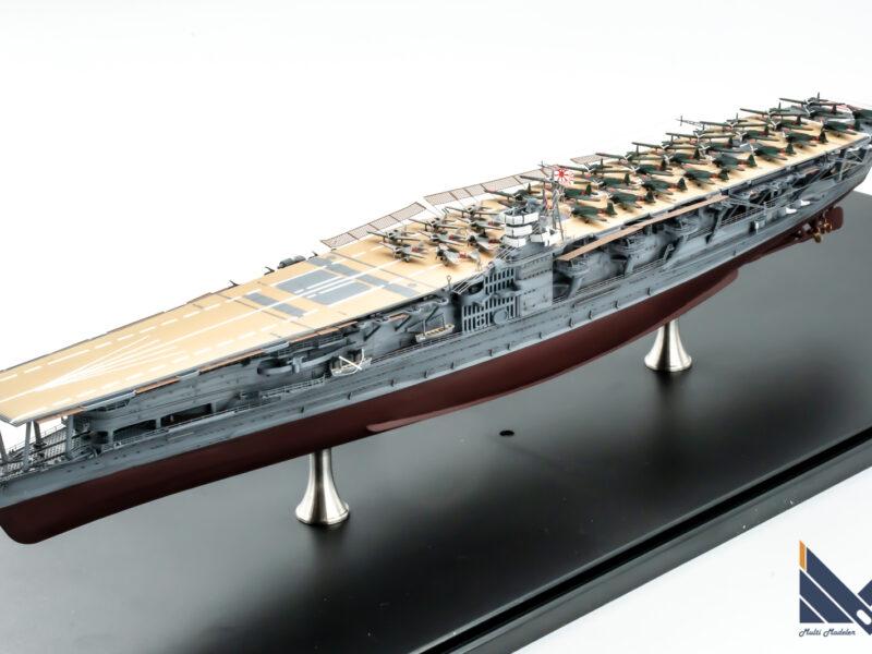 ハセガワ 1/700 日本海軍航空母艦 赤城 フルハル 真珠湾攻撃 プラモデル 完成品