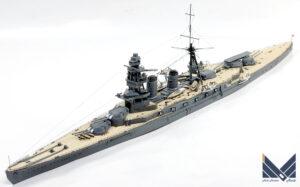 フジミ 1/700 日本海軍巡洋戦艦 天城 プラモデル 完成品