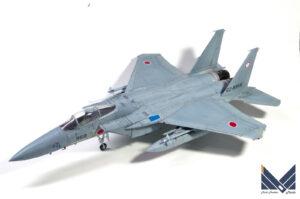 プラッツ 1/72 F-15J プラモデル 完成品