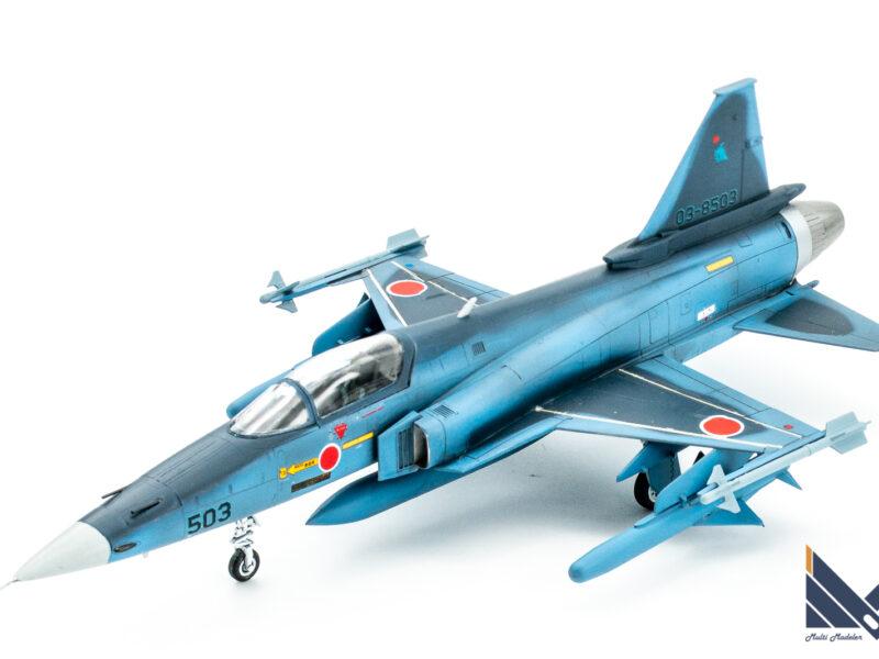 ハセガワ 1/72 F-20 タイガーシャーク プラモデル 架空 航空自衛隊 完成品