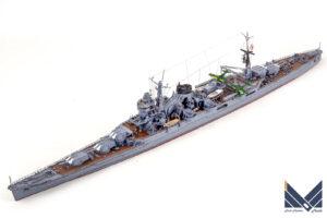 フジミ 1/700 日本海軍重巡洋艦 伊吹 プラモデル 完成品