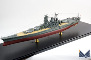 フジミ 1/700 日本海軍戦艦 超大和型 紀伊 プラモデル 完成品
