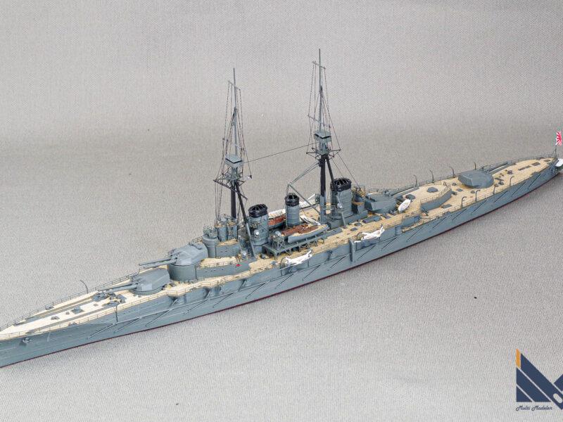 カジカ 01/700 日本海軍巡洋戦艦金剛1914  プラモデル 完成品