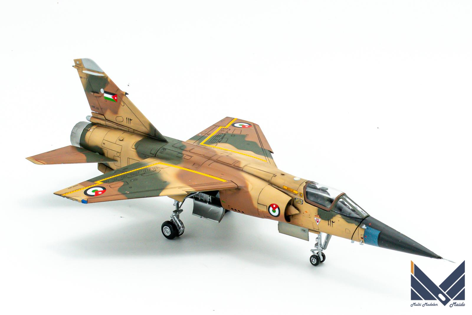 スペシャルホビー 1/72 ミラージュF1 プラモデル ヨルダン空軍 完成品