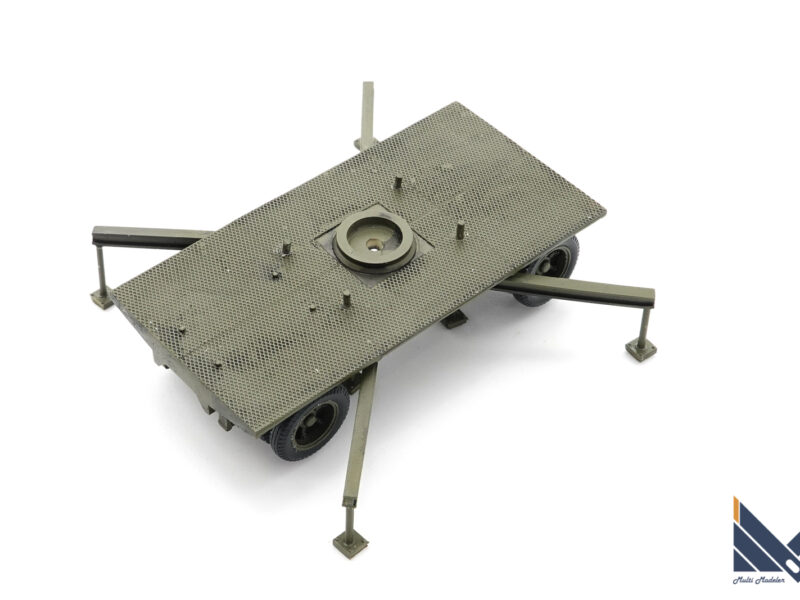 ZZモデル 1/72 アメリカ陸軍SCR-268 レジンキット 製作
