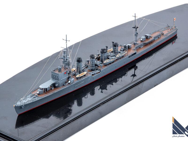 アオシマ 1/700 日本海軍軽巡洋艦川内1933 プラモデル 完成品