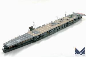 アオシマ 1/700 日本海軍航空母艦 蒼龍 プラモデル 完成品