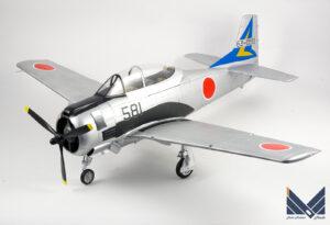 キティホークモデル 1/32 T-28 トロージャン プラモデル 航空自衛隊 完成品