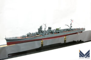 ハセガワ 1/350 日本海軍軽巡矢矧 レイテ沖海戦 プラモデル 完成品