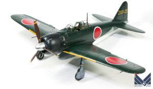 タミヤ 1/32 零式艦上戦闘機五二型  プラモデル 完成品